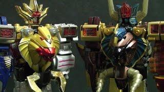 đồ chơi siêu nhân gao lắp ráp robot Power Rangers Wild Force Toys 파워레인저 정글포스 장난감