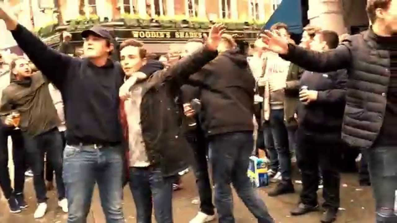 West Ham at Tottenham Hotspur away day