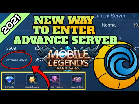 HOW TO CREATE ADVANCE SERVER ACCOUNT 2021 IN MOBILE LEGENDS BANG BANG (MLBB)