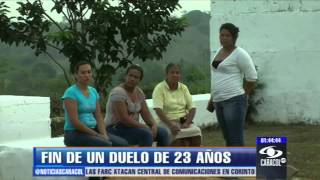 Familiares de masacrados en Pueblo Bello recuperan sus restos mortales - 05 de abril de 2013