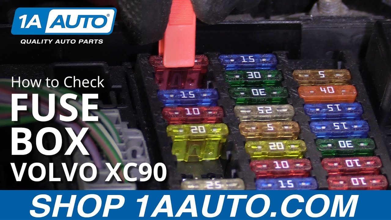 How to Check Fuse Box 03-12 Volvo XC90 - YouTube | Volvo Xc90 Rear Fuse Box |  | YouTube