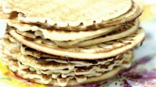 ВАФЛИ // как сделать хрустящие вафли(Простой рецепт приготовления вафель в вафельнице. Видео о том, как приготовить вафли дома в вафельнице...., 2015-04-26T13:44:39.000Z)