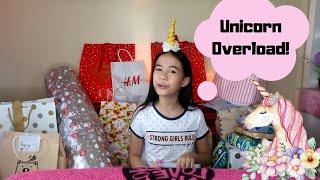 WHAT I GOT FOR MY BIRTHDAY! PURO UNICORN!?   YESHA C.