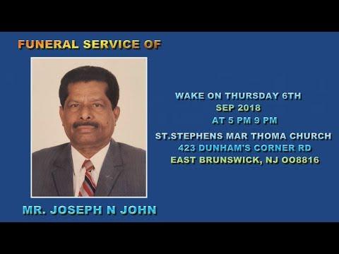 JOSEPH N JOHN