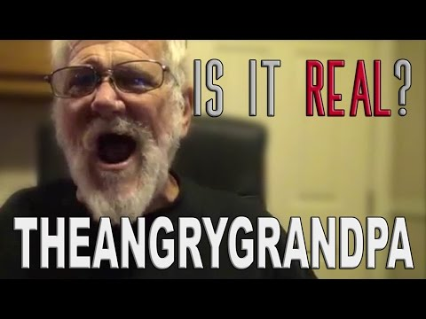 IS IT REAL?- TheAngryGrandpaShow + INTERVIEW (Blackmailed by fan)