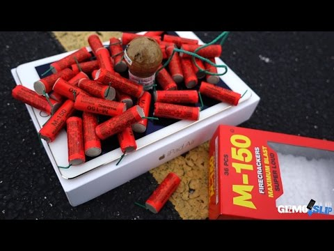 Can iPad Air 2 Survive Giant Mortar Round Fireworks? The Answer May Surprise You.... - GizmoSlip