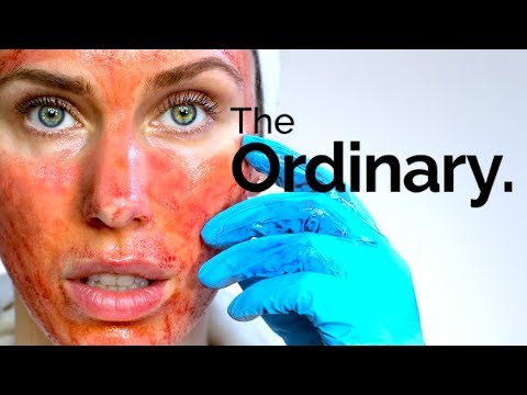 THE ORDINARY CHEMICAL PEEL FULL PROCESS - HOW TO USE THE AHA 30% BHA 2% PEELING SOLUTION