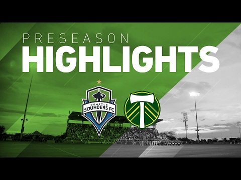 Highlights: Seattle Sounders FC vs Portland Timbers | Desert Diamond Friendly