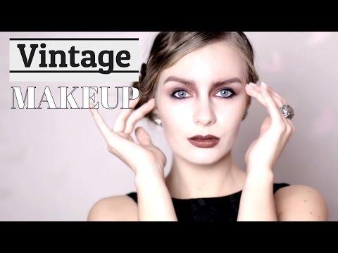 Vintage makeup | Макияж в стиле 20-х годов