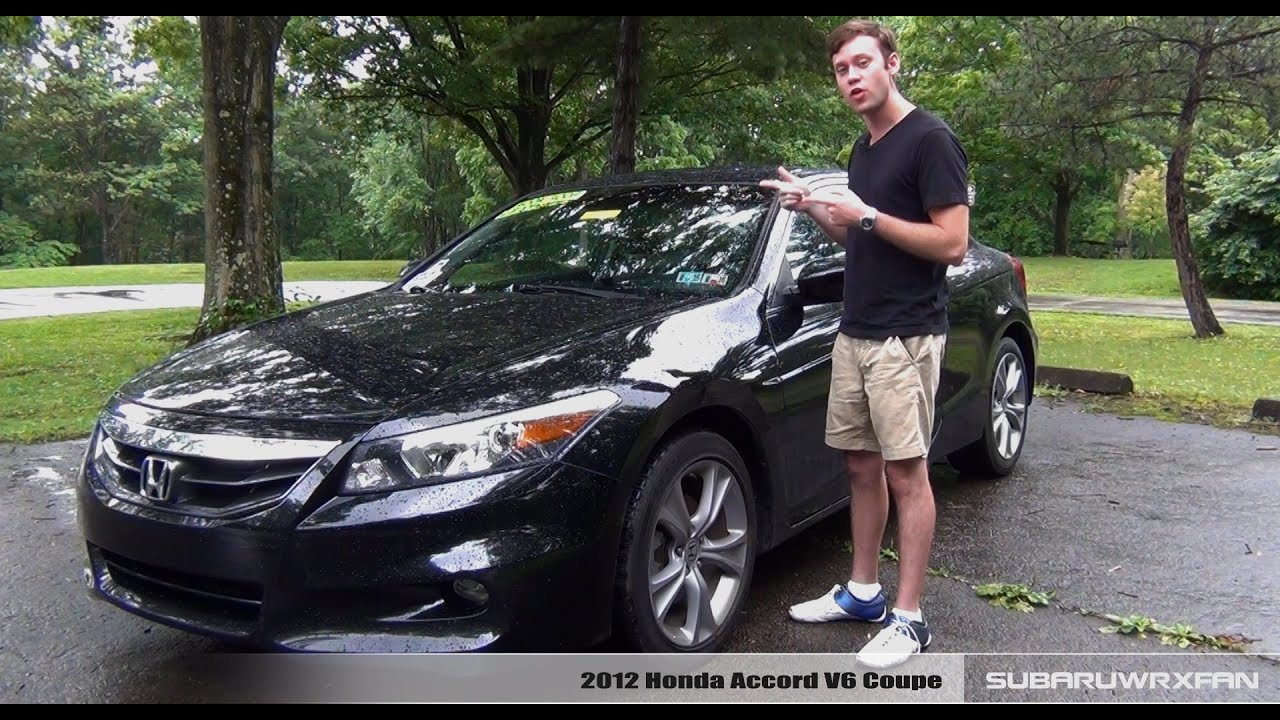 Review: 2012 Honda Accord V6 Coupe   YouTube