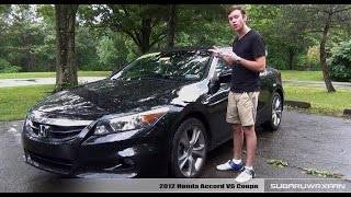 Review: 2012 Honda Accord V6 Coupe