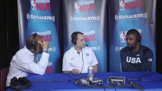 Team Usa's Kyrie Irving On Beyond The Basketball With Coach K