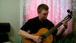 Кубинский танец на гитаре