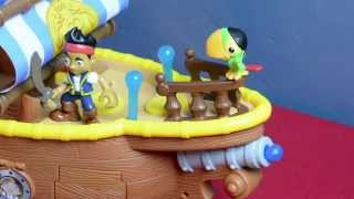 Jake and The Neverland Pirates Toy Bucky Music Ship Parrot Skully Jake Pirate Disney Junior