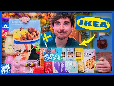 Assaggiamo tutto il CIBO dell'IKEA!