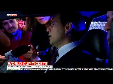 World Cup Ticket Scam: Briton On The Run