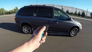 4K Review 2001 Dodge Grand Caravan Handicap Conversion Van Test-Drive and Walk around