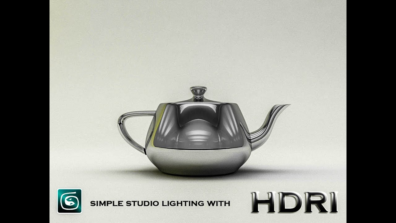 3DS MaX Vray Tutorial: Simple Studio lighting with HDRI - YouTube