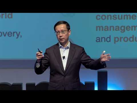Alibaba CEO Daniel Zhang speech at the P&G Signal Conference
