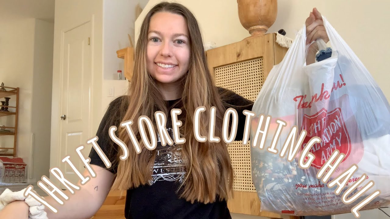 Thrift Store Clothing Haul   The Salvation Army
