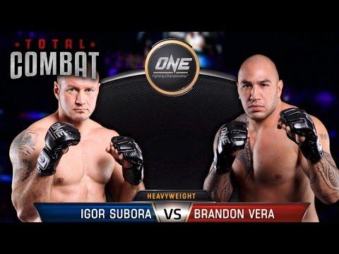 Total Combat | Igor Subora vs Brandon Vera | Full Fight Replay