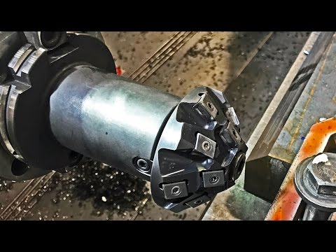 Machining with Walter Xpress indexable chamfer milling cutter | Koneistus