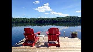 Stunning Fletcher Lake in Haliburton Ontario Home or Cottage For Sale