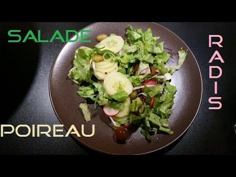 [what-i-eat/how-to-eat]-salade-avec-poireau-et-radis-vegan