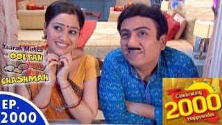 Taarak Mehta Ka Ooltah Chashmah - तारक मेहता - Episode 2000 - 11th August, 2016