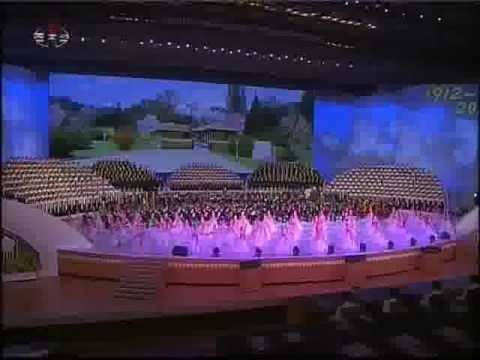 120415 Great performance of the 100th anniversary of Kim IL SUNG