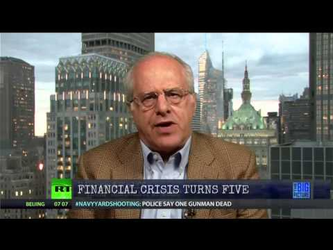 Dr. Richard Wolff on the Bankster's Great Recession