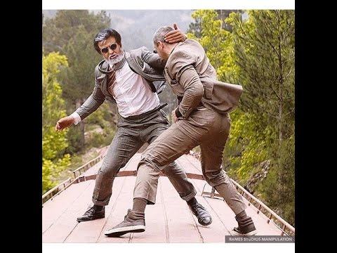 Kabali  Fight scene Leaked |  kabali...