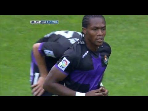 La Liga   Gol de Manucho (1-0) en el Málaga CF - Real Valladolid   20-10-2012   J8