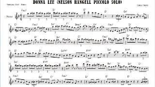donna lee nelson rangell piccolo jazz solo grp all stars big band transcribed by refat asanov
