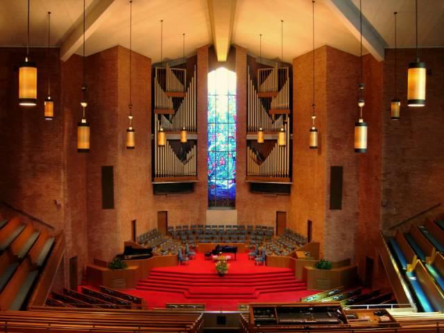 First Baptist Church, Nashville, TN and the Magnificent 59-Rank Schantz Pipe Organ