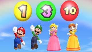 Mario Party 9 - All Action Minigames