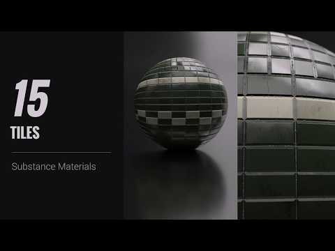 iClone 7 - Substance PBR 200 - Tiles