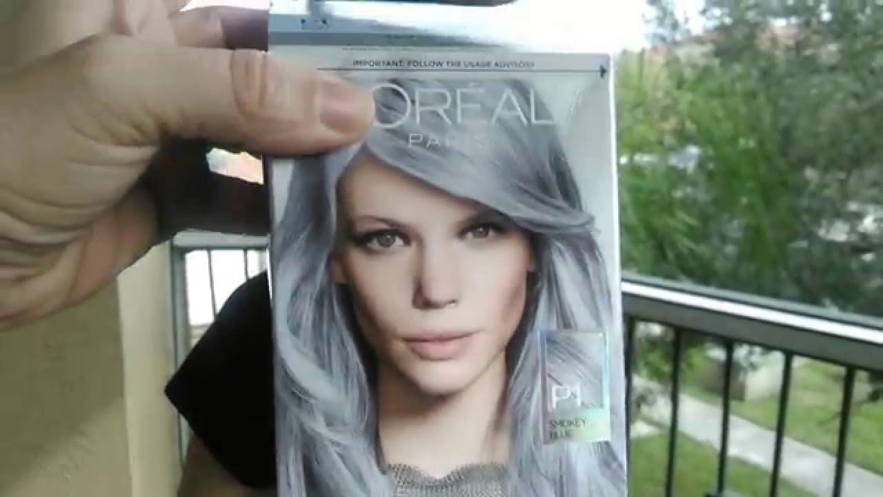 Loreal Feria Pastel Smokey Blue Update Review Youtube