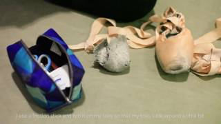 How Chelsea, Elise, and Ashley prep their Pointe Shoes