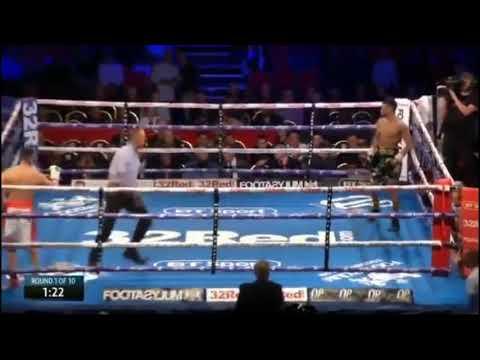 Se burló de su rival y perdió la pelea 4 segundos mas tarde