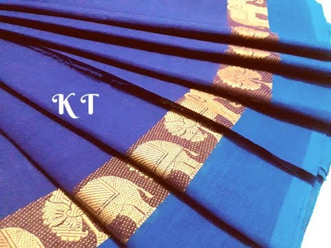 80 Count Chettinad Cotton Saree With Running Blouse Saree Length 6 2meter Fabric 100% Pure Cotton 1