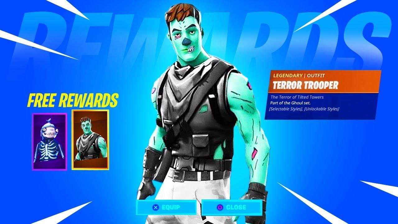 the new fortnitemares skins revealed in fortnite male