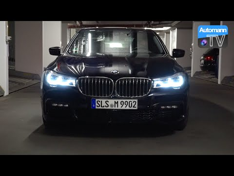 2016 BMW 730d - LASER Light Testdrive (60FPS)
