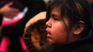 Idle No More - Bone Game Border Blockade
