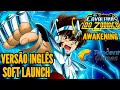 SAIU! SAINT SEIYA AWAKENING INGLES SOFT LAUNCH CAVALEIROS DO ZODIACO MOBILE RPG GAMEPLAY BR DOWNLOAD