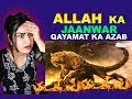 ALLAH KA JAANWAR | Qayamat Ke Kareeb Ek Janwar Zameen Se Niklega | ISLAMIC STORY | REACTION |