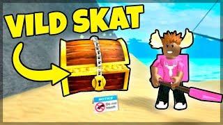 FINDER PIRAT SKATTE! - Dansk Roblox: Treasure Hunt Simulator #1