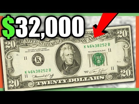 10 RARE AND VALUABLE PAPER MONEY TO LOOK FOR IN YOUR WALLET - RARE CURRENCY NOTES