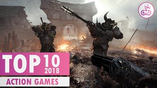 TOP 10 BEST Action Games of 2018 |  PS4/XB1/PC/SWITCH