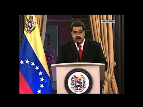 Venezuela's Maduro comments on drone 'attack'